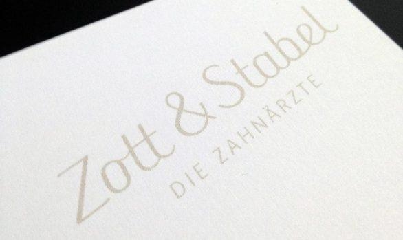 Flyer- & Webtexte für Zott & Stabel