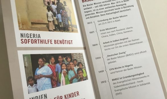 "Fundraising-Flyer ""Basler Mission"""