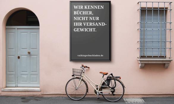 Werbeanzeigen | Vaihinger Buchladen