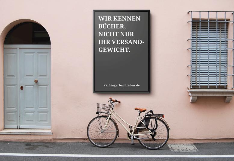 Werbeanzeigen   Vaihinger Buchladen